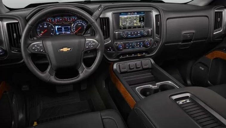 2021 Chevy Silverado Interior