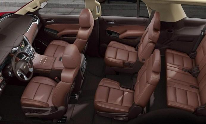 2021 Chevrolet Tahoe Interior