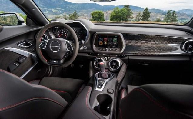 2021 Chevy Camaro SS Interior