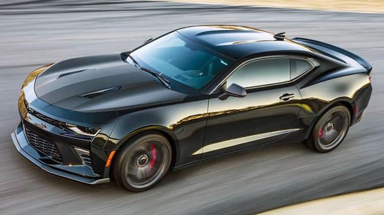 2021 Chevy Camaro SS Exterior