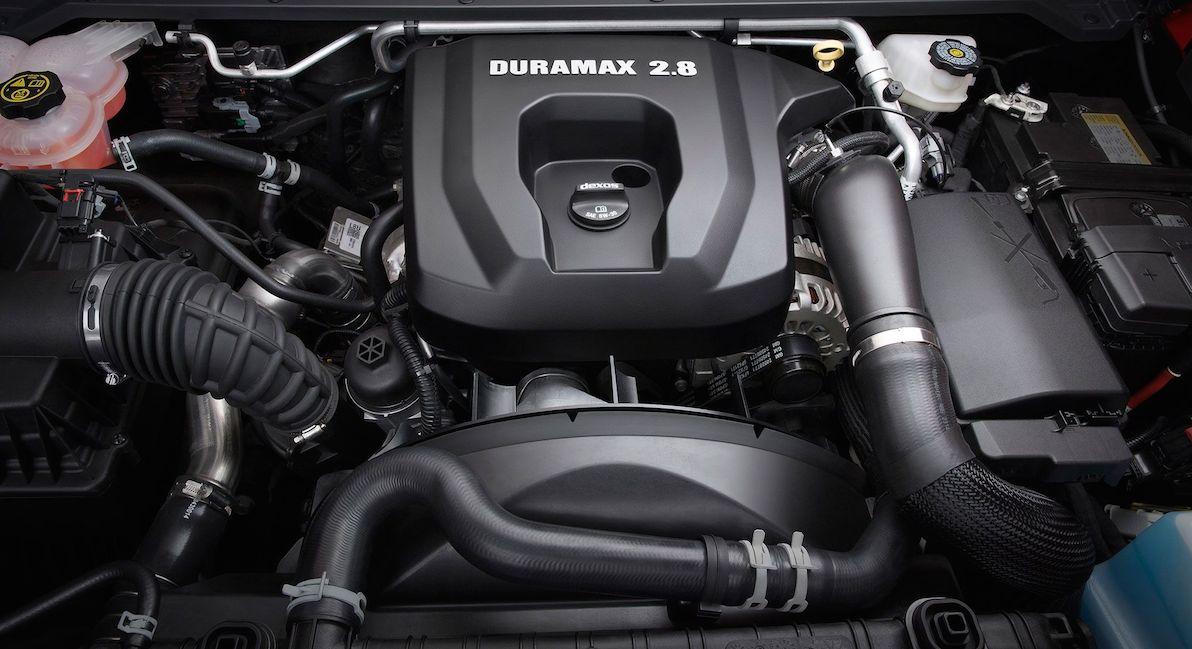 2019 Chevy Colorado Engine