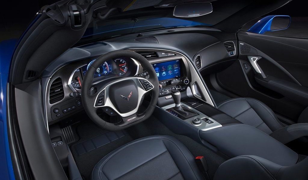 2021 Chevy Corvette Interior