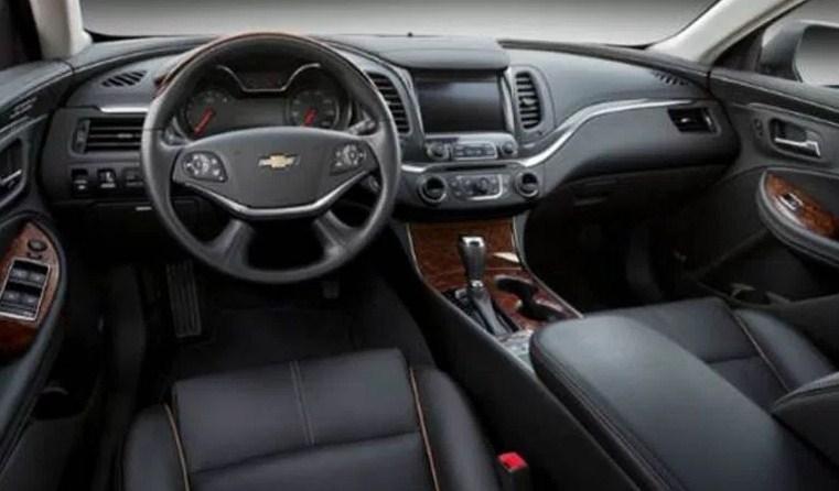 2019 Chevy Impala Interior