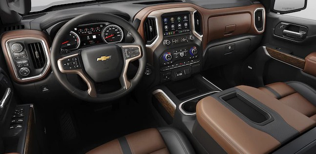 2019 Chevy Silverado 1500 Interior