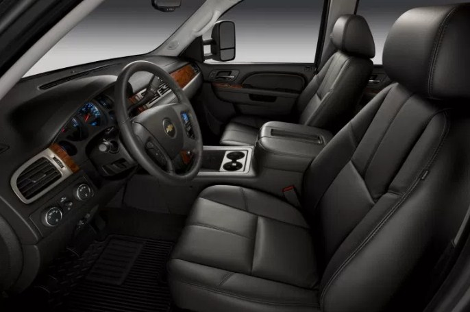 2021 Chevy Silverado 2500 Interior