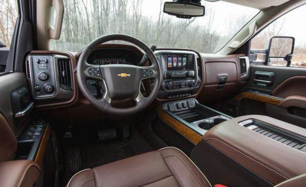 2021 Chevy Silverado 2500HD Interior