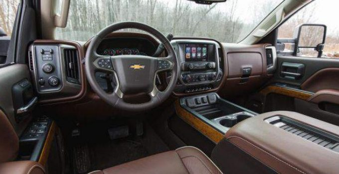 2019 Chevrolet Silverado 2500HD Interior