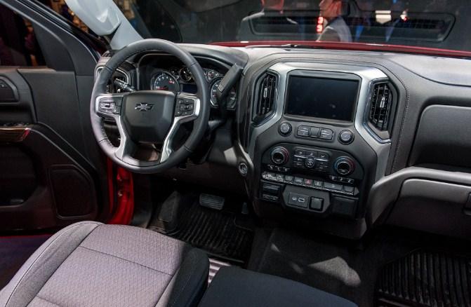 2021 Chevy Silverado Trail Boss Interior