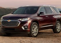 2019 Chevy Traverse Exterior