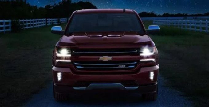 2020 Chevy Silverado Exterior