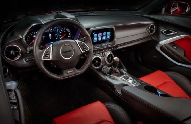 2019 Chevrolet Camaro Z28 Interior