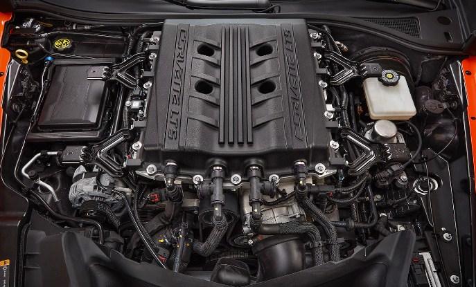 2021 Chevrolet Corvette ZR1 Engine