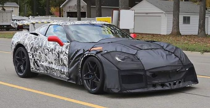 2019 Chevy Corvette ZR1 Exterior