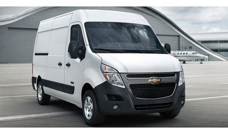 2021 Chevy Express Exterior