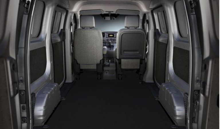 2021 Chevy Express Interior