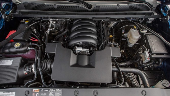 2020 Chevy Silverado 1500 Engine