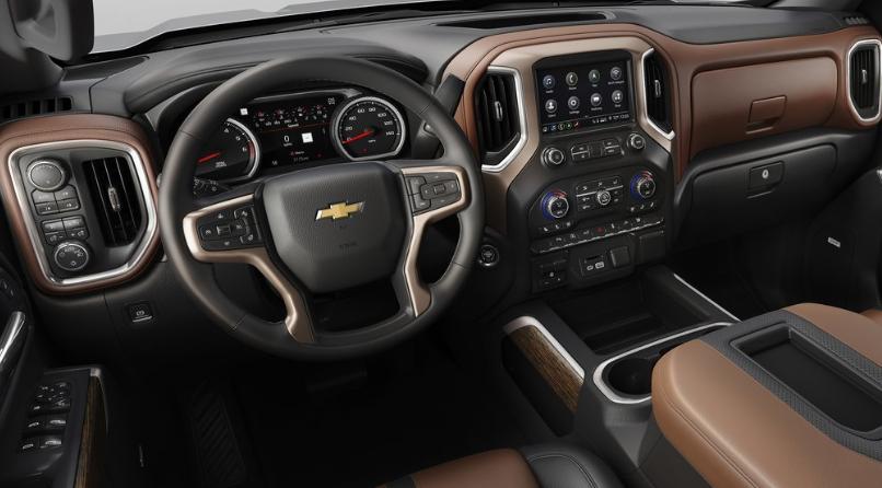 2021 Chevrolet Colorado Interior