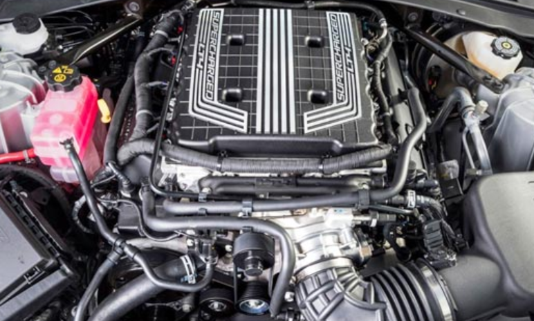 2021 Chevrolet Corvette Coupe Engine