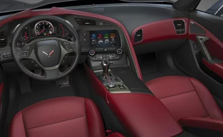 2021 Chevrolet Corvette Coupe Interior