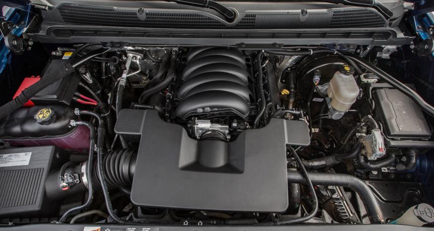 2021 Chevrolet Silverado 1500 Diesel Engine