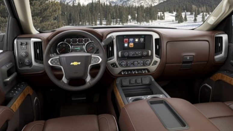 2021 Chevrolet Silverado 1500 Diesel Interior
