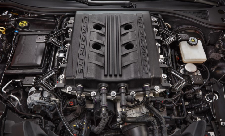 2021 Chevrolet Corvette Convertible Engine