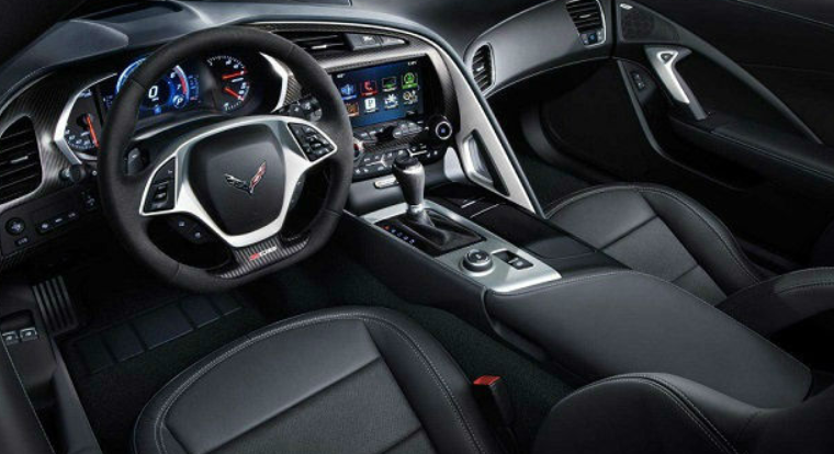 2021 Chevrolet Corvette Convertible Interior