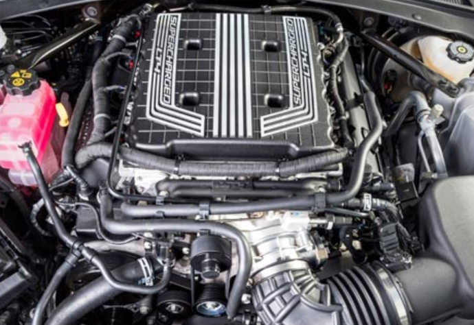 2019 Chevrolet Corvette Z06 Engine