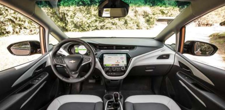 2021 Chevrolet Bolt EV Interior