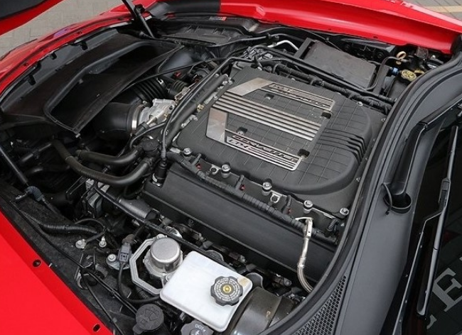 2021 Chevrolet Corvette Engine