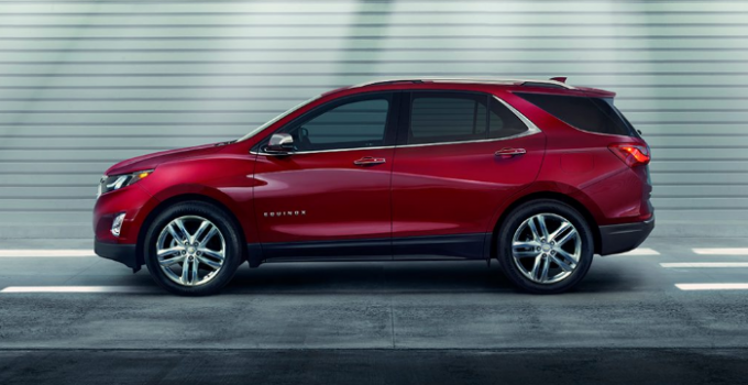 2021 Chevrolet Equinox Exterior